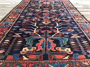 Superb Pre-1900 N.W. Per sian carpet. Tribal Hand knotted wool, organic dyes,