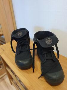 Palladium Damenschuh High-Top Boots in schwarz Grösse 39