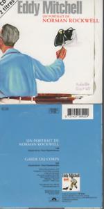 Eddy Mitchell Un Portrait De Norman Rockwell CD SINGLE
