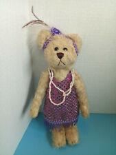 "Original Brass Button Teddy Bear ""Daisy"" Pickford Bears Limited 20th Century"