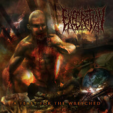 """EXECRATION """"A Feast for the Wretched"""" death metal CD"""
