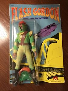 Mego 1979 rare vintage Flash Gordon MING THE MERCILESS MOC