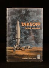 1952 Cyril M. Kornbluth Takeoff First Edition Review Copy Unclipped Dustwrapper