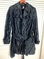 Anne Klein NY Jacket ladies M Navy Blue Lined Lightweight Retail MSRP $595