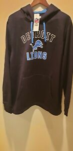 NFL Detroit Lions Hoodie Mens Size XL New With Tags