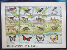 Gambia Stamps Scott #1062 To 1064, Mint Never Hinged, Three Full Sheet