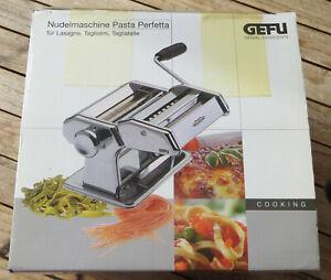 nur einmal benutzt GEFU Nudelmaschine Pasta Perfetta