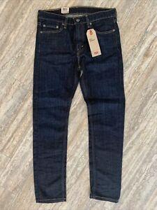 Men's Levi's 510 Skinny Denim Jeans NWT 31x30 Stretch Dark Blue Jeans