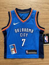 Carmelo Anthony OKC Thunder Toddler NWT NBA Basketball Nike Blue Jersey Size 3T