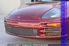 GTG 2000 - 2002 Mitsubishi Eclipse 4PC Polished Side Accent Billet Grille Kit