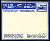 BRITISH SOUTH WEST AFRICA Unused Airletter - Aerogram VF
