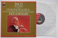 BACH Cello Suites n.3/4 TORTELIER EMI/VSM digital LP 1983