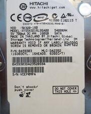 """Hitachi HTS543216L9SA00 PN:0A59303 MLC:DA2352  160gb 2.5"""" Sata Laptop Drive"""