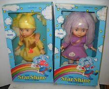 #1008 RARE NIB The Star Shine Collection Set of 4 Dolls