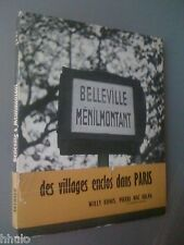 Photographie Willy Ronis Mac Orlan Belleville Ménilmontant E/O 1954 jaquette ill