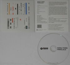 Nosaj Thing  Parallels  U.S. promo cd  card cover