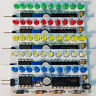 NE555+CD4017 modulo sequenziale a 10 LED 3mm regolabile ITALIA 5/12volt