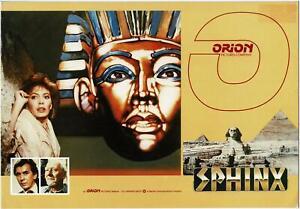 RARE 1981 ORION SPHINX PROMOTION PRESS BOOK, JOHN GIELGUD, LESLEY-ANNE DOWN
