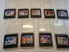 SEGA Game Gear Sonic Sammlung RAR Selten Gamegear