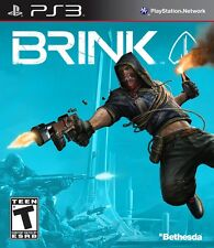 Brink PlayStation 3 Video Game PS3 Bethesda Games new in original packaging