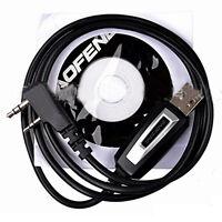 USB Programming Cable&CD for Baofeng/Pofung UV-5R UV-82 GT-3 888s TEN4 F9+ Radio