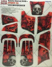 AMR Racing Graphics Kit Clearance Sale For Kazuma Meerkat 50/90 BONE COLLECTOR