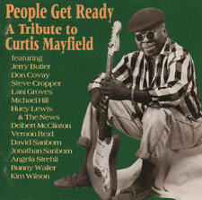 A TRIBUTE TO CURTIS MAYFIELD - People get Ready CD 93 shanachie