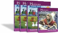 Horizons Preschool Three'S Curriculum Teachers & Workbooks Set Aop New Mf