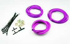 AUTOBAHN88 Engine Silicone Air Vacuum Hose Dress Up Kit PURPLE Fit Nissan