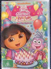 Dora's Big Birthday Adventure + Map Adventure (2 Discs) Animated Kid's DVD