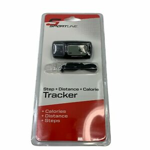 Sportline Step + Distance + Calorie Tracker Triple Function Activity Monitor New
