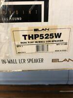 BRAND NEW Elan THP525W DUAL 5.25 In-Wall LCR Speaker