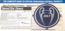 2017 RMCF UCL WINNERS Football Lextra SensCilia SportingiD Football Badge Patch