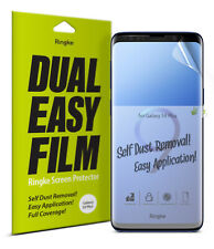 Samsung Galaxy S9 Plus Screen Protector | Ringke Dual Easy Full Cover Film 2PK