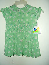 NWT YOUNG GIRLS / TODDLERS SESAME STREET DRESSES CHOICE OF 4T 5T