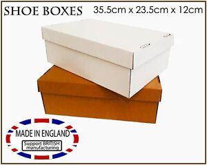 Shoe Boxes Hamper Gift Storage Box Packing Shipping Carton Postal boxes