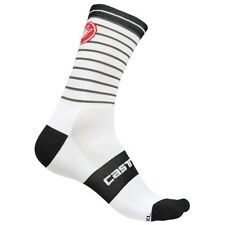 Castelli Cycling Podio Doppio 13 Socks -white/black -2XL