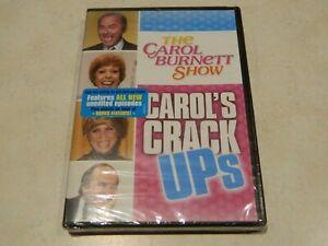 The Carol Burnett Show Carol's Crack Ups DVD [Brand New]