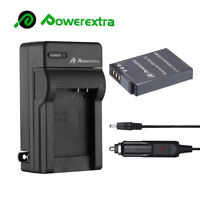 1500mAh EN-EL12 Battery + Charger for Nikon Coolpix S9900 S9700 S9100 S8000 AW12