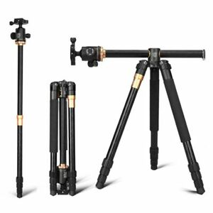 Q999H Professional Camera Tripod 61'' Portable Compact Travel Horizontal System