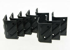 8x Large AMP Amplifier Protector Corner Speaker Corners PA Cabinets Black