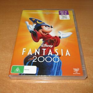 Disney FANTASIA 2000 ( DVD , Region 4 ) NEW !