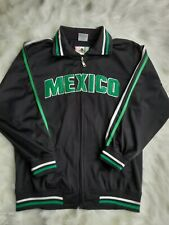 Mexico Soccer, Track, Futbol Jacket Embroidered Flag Sewn Letter