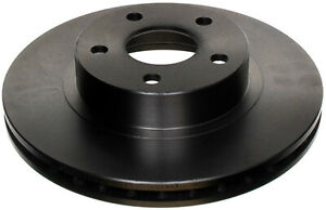 Disc Brake Rotor-Non-Coated Front ACDelco 18A346A