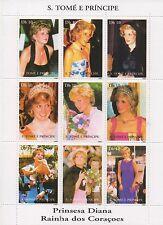 PRINCESS DIANA S TOME E PRINCIPE 1997 MNH STAMP SHEETLET