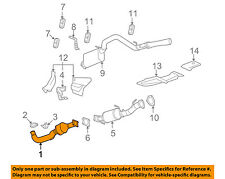 GM OEM-Catalytic Converter 15283013