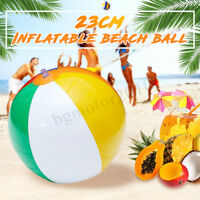 9'' Inch Inflatable Swimming Beach Ball Colorful Blow Traditional Party Game Toy