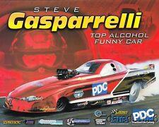 2014 Steve Gasparrelli PDC Chevy Monte Carlo Top Alcohol Funny Car NHRA postcard