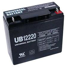 UPG New Genuine UB12220 40696 AGM 12V 22AH 12Volt 22Amp Sealed Lead Acid Battery