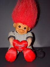 "Troll Doll 6"" Russ Plush Soft Body Valentine's Day/ Anniversary Prisoner of Love"